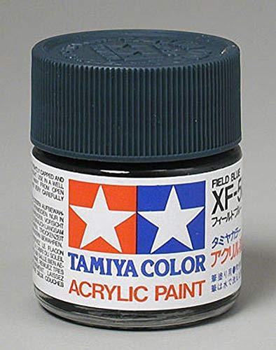 Tamiya America, Inc Acrylic XF50 Flat, Field Blue, TAM81350