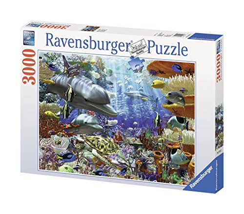 ravensburger oceanic wonders 3000 piece puzzle new. Black Bedroom Furniture Sets. Home Design Ideas