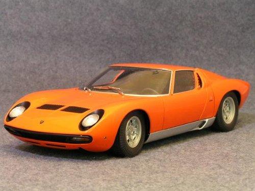 1/18 Lamborghini Miura SV(オレンジ) 「MILLENNIUMシリーズ」 74542