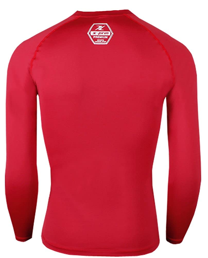 XPRIN XP100 Series Base Layer Compression Long Sleeve Sports Wear UV 97.5/%