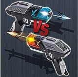 MIMIWORLD Battle X Gun Play Mission Transchip 2 Guns for 2 Player