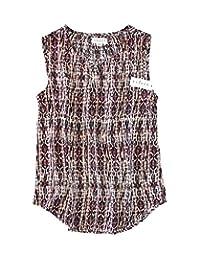 Velvet Graham & Spencer - Women's - Choose Print - Carlina Woven Rayon Sleeveless Tank Blouse