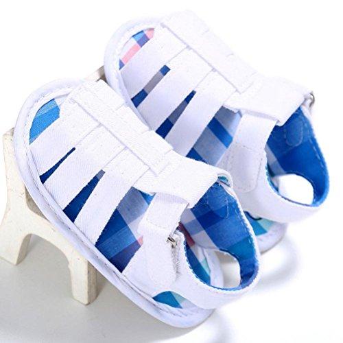 Zapatos de bebé, Switchali verano BebéInfantil chicosCuna SuaveNiñitoRecién nacido Sandalias Niño blancos Zapatos bebe Niña primeros pasos Blanco