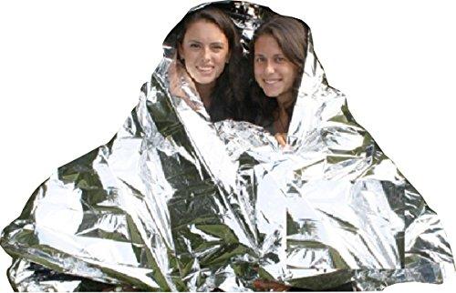 2 Person Heatsheets® Emergency Reflective Survival Blanket by Survive Outdoors Longer