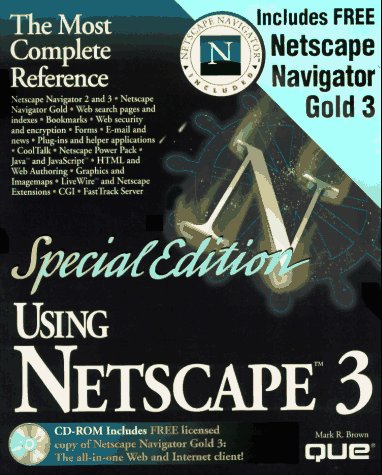 Special Edition Using Netscape 3 (Using ... (Que))
