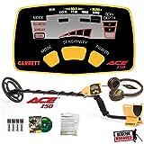 Garrett Ace 150 Metal Detector with Waterproof Coil NIB + HEADPHONES