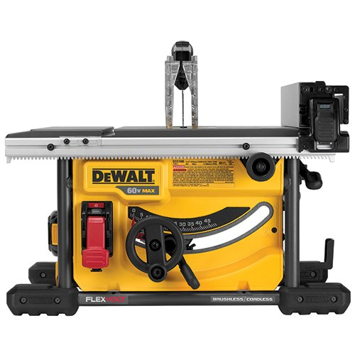 DEWALT DCS7485T1 FLEXVOLT 60V MAX Table Saw Kit, 8-1 4