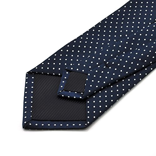 Polka White Blue Colors Various Necktie Mens amp; Silk Formal Tie Dark PenSee Dot qtO78v