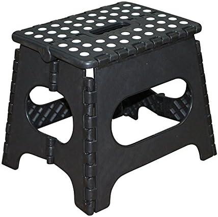Jeronic 11-Inch Plastic Folding Step Stool Black  sc 1 st  Amazon.com & Kidsu0027 Step Stools | Amazon.com islam-shia.org