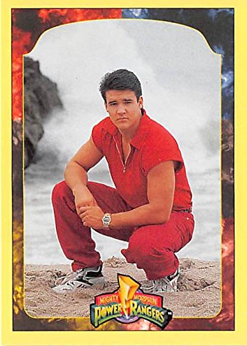 jason-power-rangers-trading-card-1994-cac2-mighty-morphin-81-austin-st-john-red