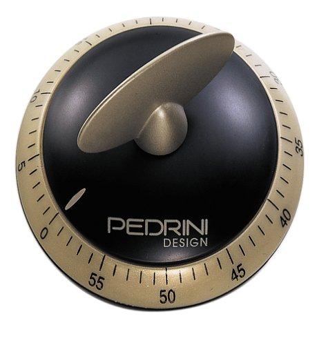UPC 028067070439, Pedrini Black & Satin Professional 60min Timer