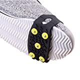 AutumnFall ICY Claws, (TM) 1 Pair Over Shoe Anti-Slip Shoe Boot Tread Studded Grips Snow Shoes Crampons, Ice Walker Walking