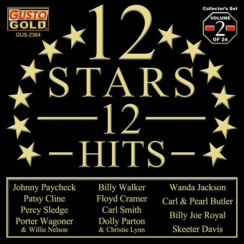 12 Stars - 12 Hits Vol. 2 / Various (CD)