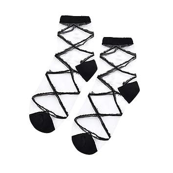 Amazon Com Gop Store Women Fashion Mesh Glass Silk Socks Ultrathin