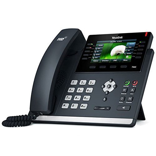 Universal Telephone Interface - Yealink SIP-T46S IP Phone (Power Supply Not Included) (Renewed)