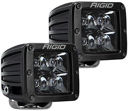 PAIR Spot Midnight Edition 202213BLK Rigid D-Series PRO 202213BLK LED lights set of 2