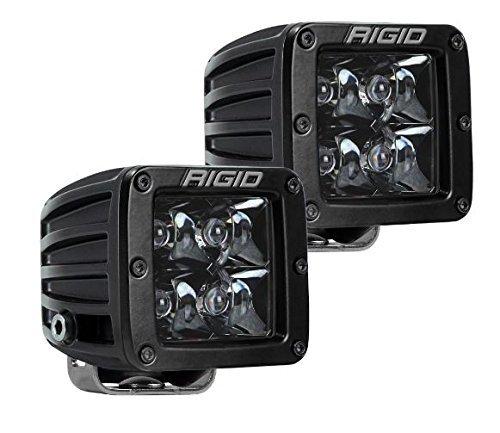 202213BLK Rigid D-Series PRO | Spot Midnight Edition | PAIR (set of 2) LED lights, 202213BLK