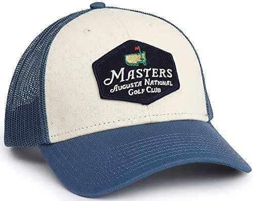 Masters Blue/Stone Truckers Hat (Hat Masters Trucker)