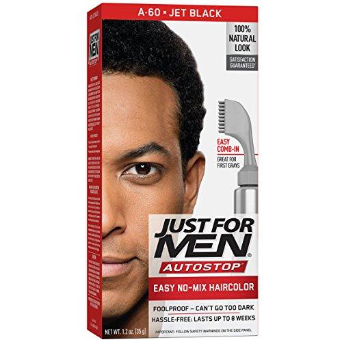 (Just for Men Autostop Men's Comb-in Hair Color, Jet Black)