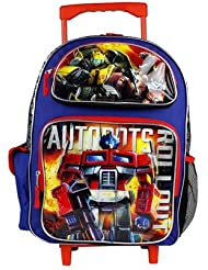 New Transformers Large 16 inches Rolling Backpack