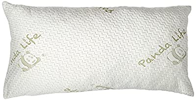 Panda Life Shredded Memory Foam Pillow-King, 2 Pack by Panda Life