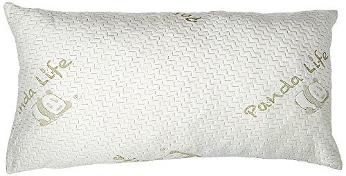 Panda Life Shredded Memory Foam Pillow-King, 2 Pack