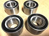 CPW (tm) 05-16 CAN AM OUTLANDER ALL 4 WHEEL BEARINGS KIT fit 1000 800 650 570 500 400 330