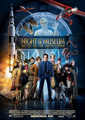 Night at the Museum: Battle of the Smithsonian 2009 S/S Movie Poster 13.5x20