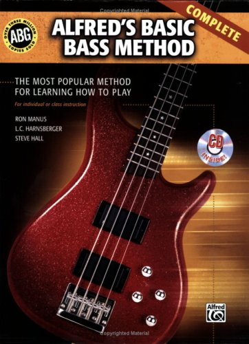 Alfred's Basic Bass Method Complete: The Most Popular Method for Learning How to Play, Book & 2 CDs (Alfred's Basic Bass Guitar Library)
