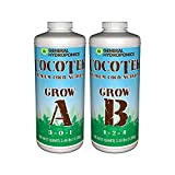 General Hydroponics GH3262 COCOTEK Grow A QT Hydroponic Base Nutrient, White