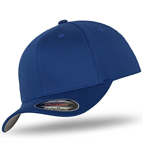 para béisbol Azul Cobalto Flexfit de Gorra hombre wORx0BUq