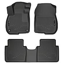 Husky Liners 99401 Black Front & 2nd Seat Floor Liners Fits 2017 CR-V