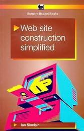 Web Site Construction Simplified