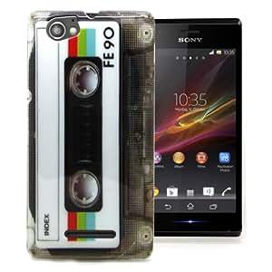Accessory Master 5055716370904 - Funda para Sony Xperia M C1905, color Blanco