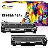Toner Bank Compatible Toner Cartridge Replacement for HP 48A CF248A M28w M15w Toner Cartridge HP Laserjet Pro MFP M28w M29w M28a M29a HP Laserjet Pro M15w M16a M15a M16w Printer Toner Ink