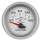 "AutoMeter Auto Meter 4937-M Gauge, Water Temp, 2 1/16"", 40-120ºc, Electric, Ultra-Lite Ii"