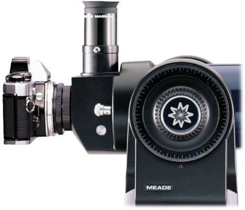 Meade Instruments 07366 No.64ST 35-Millimeter SLR Camera T-Adapter for ETX-60, ETX-70 and ETX-80 Series Telescopes (Black) (Camera Mount For Telescope Meade)