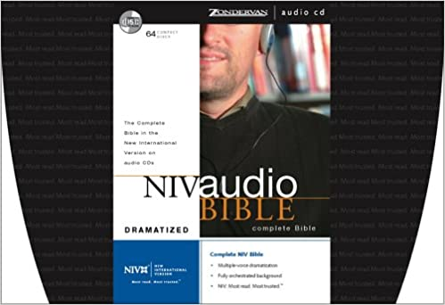 NIV Audio Bible Dramatized CD: Zondervan: 9780310918639