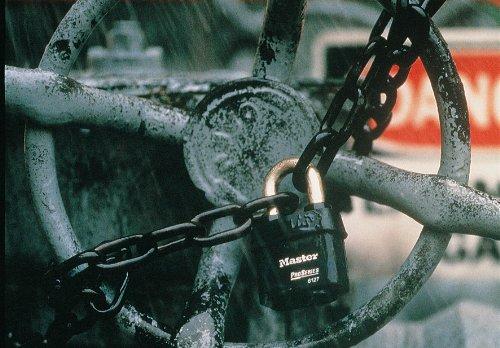 Masterlock 6121ljka1/54/mm M//Lock ka10g023/ProSeries Vorh/ängeschloss extra langer B/ügel