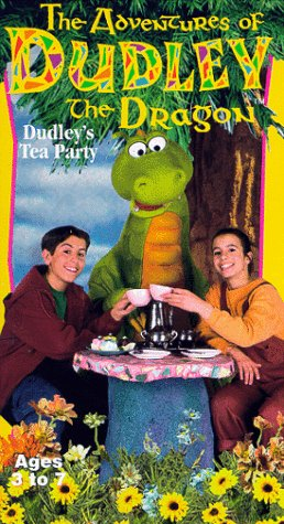 The Adventures of Dudley the Dragon: Dudley's Tea Party [VHS]