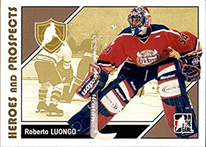 2007 08 Itg Heroes And Prospects 8 Roberto Luongo Florida Panthers