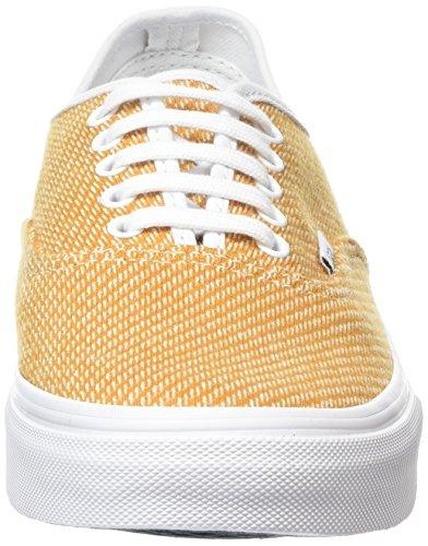 Vans Authentic Slim, Zapatillas Unisex Adulto Amarillo (Jersey gold/true white)