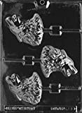 Cybrtrayd Life of the Party A110 Wolf Lolly Chocolate Candy Mold in Sealed Protective Poly Bag Imprinted with Copyrighted Cybrtrayd Molding Instructions