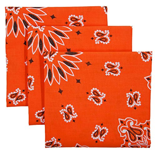 Bandana 3-Pack - Made in USA For 70