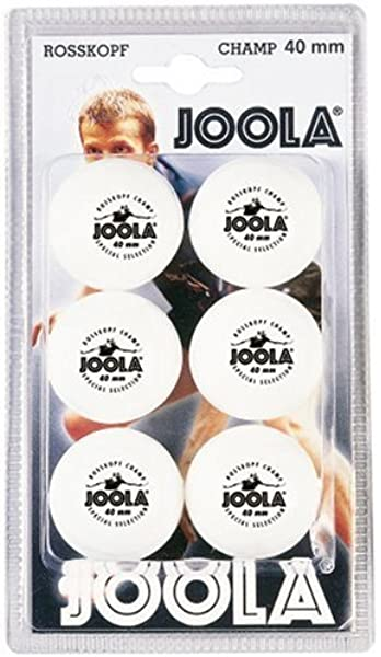 Joola Tt Ball - Pelota de ping pong, color blanco: Amazon.es ...