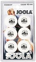 JOOLA Tischtennis-Bälle Rossi Champ 40 weiss 6er Blister