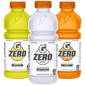 Well-Being-Matters 51HRS1jxsxL._SS300_ Gatorade Zero Sugar Thirst Quencher, Glacier Cherry Variety Pack, 20 Fl Oz (Pack of 12)