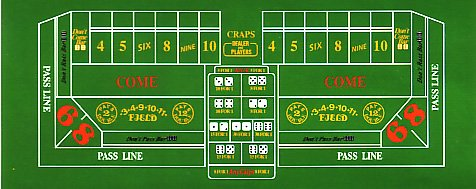 Place bet craps payout