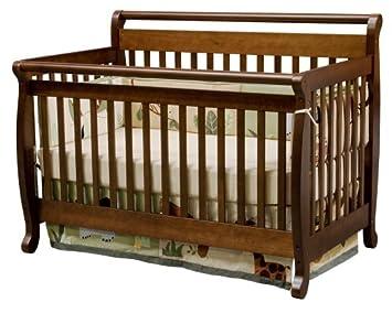 Amazon Com Davinci Emily 4 In 1 Convertible Crib In Coffee Baby