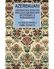 Azerbaijani-English/English-Azerbaijani Dictionary & Phrasebook